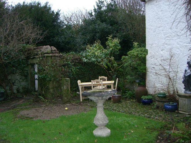Courtyard Garden Before