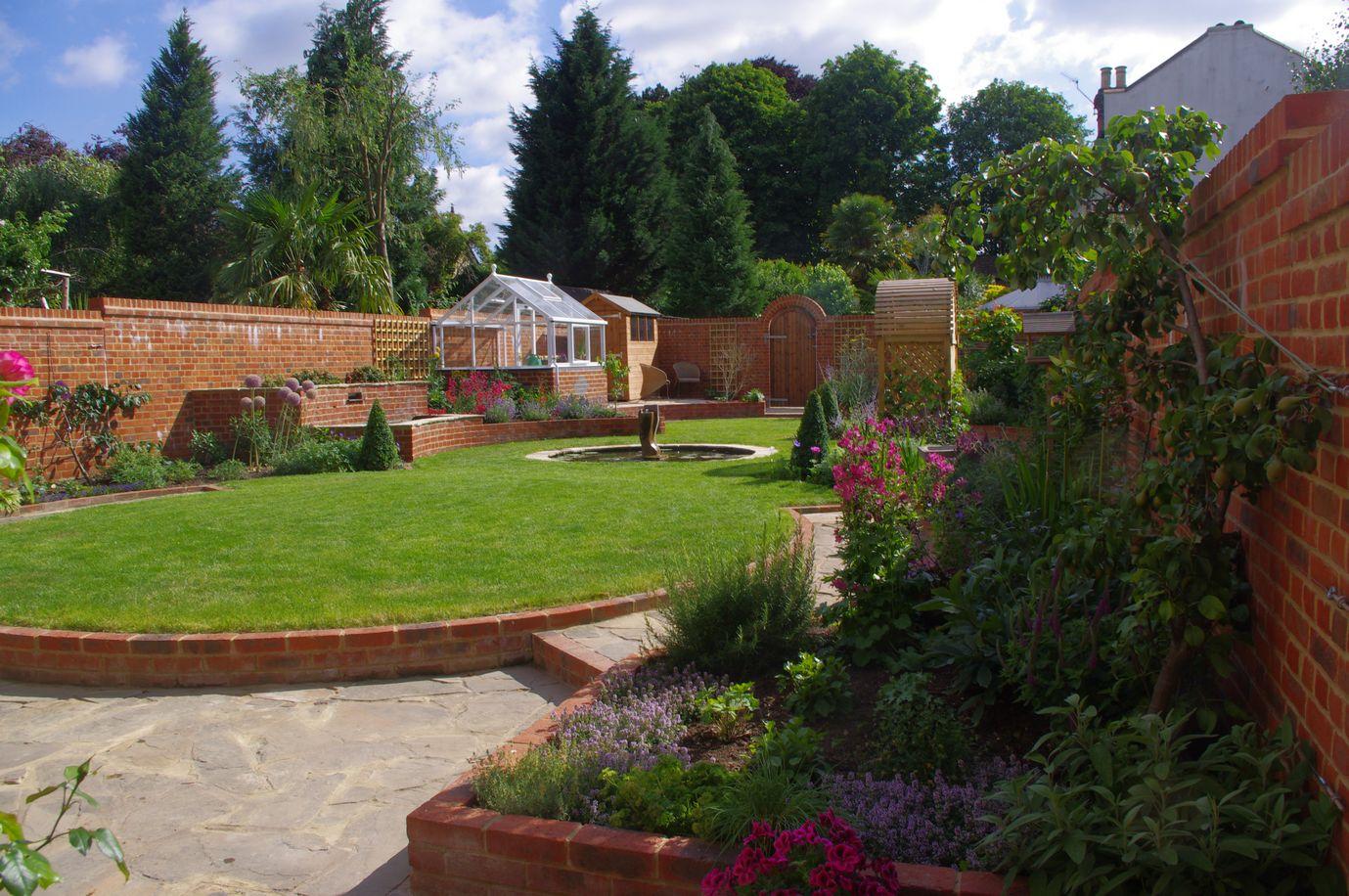 Walled Garden in Epsom