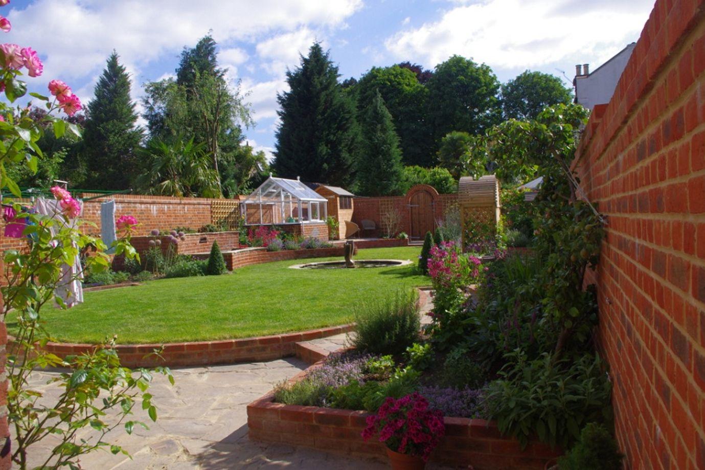 Walled Garden, Epsom, Surrey